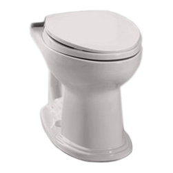 Toto - Toto C754EF#12 Sedona Beige Eco Dartmouth Elongated Toilet Bowl, 1.28 GPF - With it's oval-shaped lines and blending style, the Dartmouth collection is sure to fit into any home decor.
