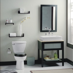 American Standard Cadet 3 FloWise Round Front Total Toilet - Smarter design for higher performance and fewer clogs – all at a great price. The Cadet® 3 series toilets come in a variety of styles; one piece and two piece models, elongated and round front bowls, right height and compact versions and even water efficient models that flush on just 1.28 gallons per flush. The Cadet 3 is a hard working versatile series with superior performance.