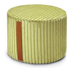 Missoni Home - Missoni Home   Coomba Green Cylinder Pouf - Design by Rosita Missoni.