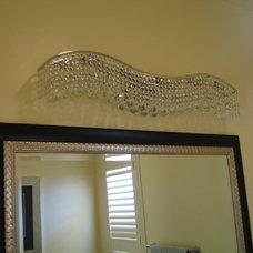 Traditional Bathroom Vanity Lighting by Custom Homes by Miller
