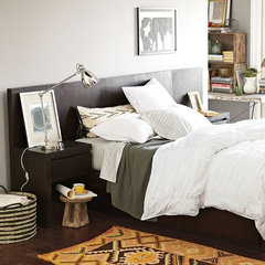 modern beds by West Elm