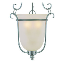 Jeremiah Lighting - Jeremiah Lighting 26343 Linden Lane 3 Light Urn Shaped Pendant - Jeremiah Lighting 3 Light Foyer Pendant from the Linden Lane CollectionFeatures: