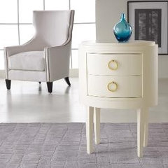 side tables and accent tables by The Well Appointed House