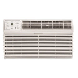 Frigidaire A/C - 10000 BTU w/ Electronic Controls and Remote, Through the Wall (230V) - Frigidaire's FRA106HT2 10,000 BTU 230V Through-the-Wall Air Conditioner is perfect for medium to large size rooms up to 500 square feet. This unit is designed for through-the-wall installation and is not designed for standard window installation. It will fit most existing wall sleeves and includes a standard universal interior trim kit. New wall sleeves are sold separately. This unit also requires a special 230V electrical outlet and will not operate with a standard 115V household electrical outlet. The ready-select electronic controls allow you to easily select options with the touch of a button. The effortless temperature-sensing remote control allows you to see, set and maintain room temperature from across the room. The multi-speed fan features three different fan speeds for more cooling flexibility and 4-way air direction control allows you to direct the air where you want it. Plus, quiet operation keeps you cool without keeping you awake.10,000 BTU air conditioner for through-the-wall installation installation (Not suitable for window installation)|Special 230V electrical outlet required (Unit will not work with a standard 115V outlet)|Quickly cools a room up to 500 sq. ft.|Dehumidification up to 2.8 pints per hour|Ready-select electronic controls allow you to easily select options with the touch of a button|Effortless temperature sensing remote control allows you to see, set and maintain room temperature from across the room|Low power start-up and operation conserves energy and saves you money|Quiet operation keeps you cool without keeping you awake|Effortless temperature control maintains preset room temperature so you will remain at your comfort level|Effortless restart automatically resumes operating at its previous settings when power is restored|  frigidaire| fra106ht2| fra106| 10000| 10|000| btu| through-the-wall| thru-the-wall| through| thru| the| wall| ttw| air| conditioner| a/c| ac| 230v  Package Contents: through the wall air conditioner|standard universal interior trim kit|remote control|2 AAA batteries|manual|warranty  This item cannot be shipped to APO/FPO addresses