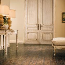 COUNTRY Dark Varnished Oak Planks Quick-step Laminate Floorng - COUNTRY Dark Varnished Oak Planks