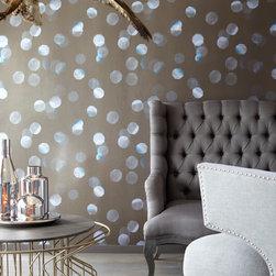 Luz - A modern decor idea with a designer wallpaper mural