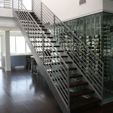 Contemporary Staircase by See Construction
