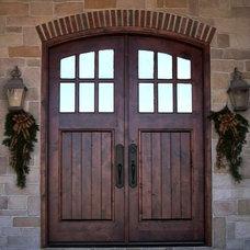 Traditional Front Doors by Deines Custom Door