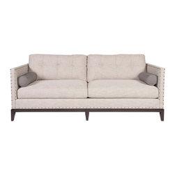 Vanguard Furniture - Vanguard Furniture Bleeker Sofa W177-2S - Vanguard Furniture Bleeker Sofa W177-2S