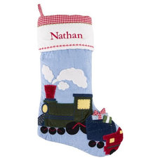 Modern Christmas Stockings And Holders by Pottery Barn Kids