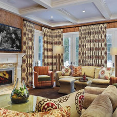 Traditional Family Room by Evelyn Benatar, New York Interior Design