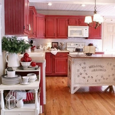 Traditional Kitchen The Twice Remembered Cottage