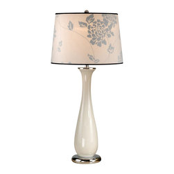 Laura Ashley - Laura Ashley BTP415 Siena Ceramic Table Lamp Beige - Laura Ashley BTP415 Siena Ceramic Table Lamp Beige