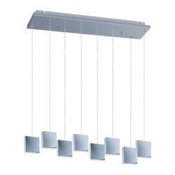 ET2 - ET2 E22264-61PC Brick 8-Light Led Pendant - ET2 E22264-61PC Brick 8-Light Led Pendant
