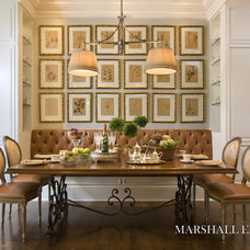 Traditional Dining Room by Marshall Morgan Erb Design Inc.