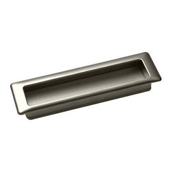 Classic Hardware - Classic Hardware Marella Design Forme Recessed Pull - These recessed pulls give a kitchen a commercial and utilitarian feel. They work well with bypass doors, stained wood doors and metal and glass doors.