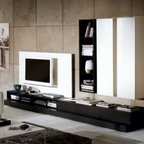 Novecento TV Stand and Wall Unit by Natuzzi Italia -