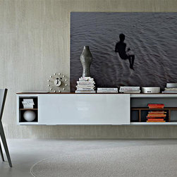 Pass Wall System by Molteni & C - Designed by  Luca Meda