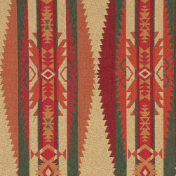 P7021-Sample - This southwest chenille upholstery fabric is great for all indoor upholstery applications. This material is uniquely soft and durable. Any piece of furniture will look great upholstered in this material!