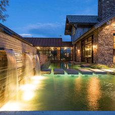 Traditional Pool by JLF & Associates, Inc.