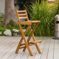 Christopher Knight Home - Christopher Knight Home Tundra Outdoor Wood Barstool - Pay homage to a natural setting with neutral outdoor bar stools. Constructed of acacia and teak woods,these beautiful barstools offer enduring beauty for many years of indoor or outdoor entertaining. The foldable design provides easy storage.