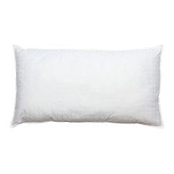Thomasville - Thomasville Exhilarate Down Alternative Pillow - Sleep comfortably with the Thomasville pillow featuring all the luxury of a down pillow without the feathers. This pillow has a super fine synthetic down micro-fiber fill and is hypo-allergenic. It includes a 3 year limited warranty.