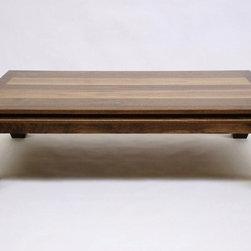 Ming Walnut Coffee Table -