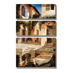 Artcom - Lunchtime by Gilles Archambault - Lunchtime by Gilles Archambault is a Canvas Art Set.
