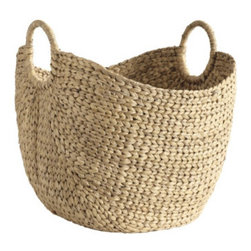 Provence Market Basket - The Provence Market Basket will having your dreaming of fabulous French markets.  Use this strong, sturdy basket to add texture to a space while it holds your  magazines or books.