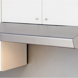 Zephyr - Zephyr 30W in. Breeze I Under Cabinet Range Hood - AK1100B - Shop for Hoods and Accessories from Hayneedle.com! Reliable and elegant the Zephyr 30W in. Breeze I Under Cabinet Range Hood will keep your kitchen cooking along smoothly in style. This range hood has a modern look that comes in your choice of finish to suit your kitchen's decor. With three fan settings it can move up to 300 cubic feet of air per minute. Despite all this power it operates whisper quiet. A pair integrated lamps with two settings sheds just the right amount of light on your range.About ZephyrSince 1997 Zephyr has remained true to their vision of delivering the unexpected. Founder Alex Siow embraced the idea that a kitchen hood could do much more than vent air it could be as distinctive in its design as in its performance. Zephyr was first to recognize the demand for powerful professional-grade hoods for the home that were also beautiful. They answered the call with their Power Series of high CFM range hoods that put air quality concerns to rest with quiet efficiency. Zephyr raised the bar with self-cleaning filter-free technologies. Their solid reputation for well-construction high-powered range hoods is matched by their style and design. Fashion-forward and inspired their lines of range hoods include original works from renowned designers Robert Brunner Fu-Tung Cheng and David Lewis.