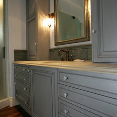 traditional bathroom by Mega Builders