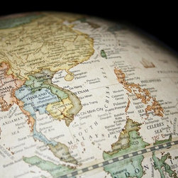Wallmonkeys Wall Decals - Map of Southeast Asia Wall Mural - 18 Inches W x 12 Inches H - Easy to apply - simply peel and stick!