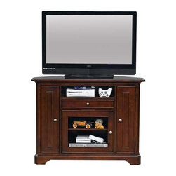 Winners Only - Topaz Media Base - One shelf and drawer. Three doors. 47 in. W x 21 in. D x 36 in. H