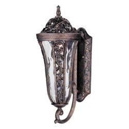 Maxim Lighting - Maxim Lighting 401WGTR Montecito VX 2-Light Outdoor Wall Lantern In Tortoise - Features