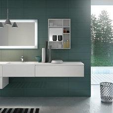 Modern Bathroom Vanities And Sink Consoles by European Cabinets & Design Studios