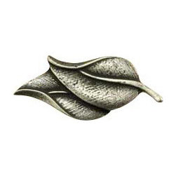 Anne at Home Hardware - Double Leaves  Knob, Antique Bronze - Made in the USA - Anne at Home customized cabinet hardware enables even the most discriminating homeowner to achieve the look of their dreams.  Because Anne at Home cabinet hardware is designed to meet your preferences, it may take up to 3-4 weeks to arrive at your door. But don't let that stop you - having customized Anne at Home cabinet knobs and pulls are well worth the wait!   - Available in many finishes.