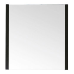 Avanity - Loft 30 in. Mirror - If simple and sleek is your decor ethos, this is your ideal bathroom mirror. Framed on two sides instead of four, it gives your space unfussy style.