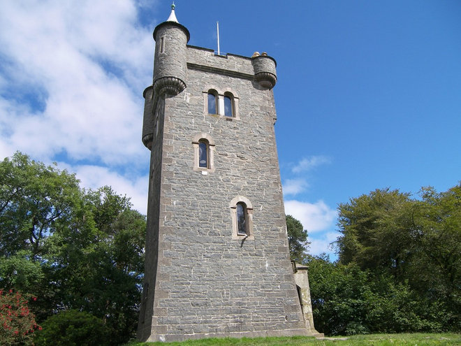 Live a fairy tale in a getaway castle tower for Tower home plans
