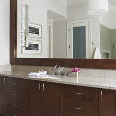 contemporary bathroom by Denise McGaha Interiors
