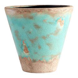 Cyan Design - Cyan Design Lighting - 05437 Large Cane Planter - Cyan Design 05437 Large Cane Planter