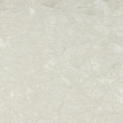 White Classic Crushed Velvet Upholstery Fabric By The Yard - This is a classic velvet upholstery fabric. It is soft and very durable. In addition, it is easy to clean, made in America and machine washable.