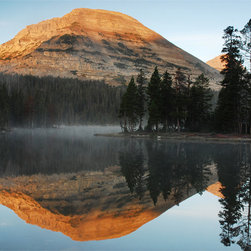 MyBarnwoodFrames - Mirror Lake and Mount Baldy Tom Nielson Print, 16x20 - A  stunning  photograph  16x20 size photograph of  Mount  Baldy  reflected  on  the  clear-as-glass  surface  of  Mirror  Lake,  Utah,  USA.  Purchase  this  print  alone,  or  order  it  framed  in  a  solid  wood  frame.                                                                                     Choose  Your  Frame  Style                                                                         250  Classic                                  250  Sangria                                  315  Classic                                                  350  Classic                                  385  Classic                                  385  Espresso                                                  385  Honey  Alder                                  400  Classic                                  400  Honey  Alder