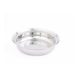 Old Dutch International - Food Pan only for #970 Chafing Dish - You put only the finest ingredients into your meals, so display them with only the finest of dishes. This oval stainless steel pan adds an elevated level of sophistication to even the simplest of dishes.  If you need to quickly pop your dish in the oven to put on the finishing touch, don't fret; this dish is oven safe up to 350 degrees.