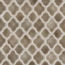 Mediterranean Tile Moroccan Mesh-Mounted Mosaic Field