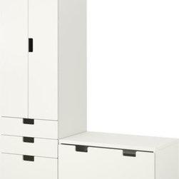 Ebba Strandmark/IKEA of Sweden - STUVA Storage combination with bench - Storage combination with bench, white, white