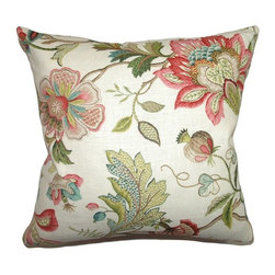 Pillow Collection - The Pillow Collection Adele Crewels Pillow - Multi Multicolor - P18-42060-MULTI- - Shop for Pillows from Hayneedle.com! Save yourself the work of hand-embroidery and style up your home with the unique and elegant The Pillow Collection Adele Crewels Pillow - Multi. Made of 70% cotton and 30% linen this gorgeous square pillow features a plush 95/5 feather/down insert for ultra softness. The floral-print crewel-embroidery inspired design features a bold vibrant color palette that's sure to cheer up any room.About The Pillow CollectionIdentical twin brothers Adam and Kyle started The Pillow Collection with a simple objective. They wanted to create an extensive selection of beautiful and affordable throw pillows. Their father is a renowned interior designer and they developed a deep appreciation of style from him. They hand select all fabrics to find the perfect cottons linens damasks and silks in a variety of colors patterns and designs. Standard features include hidden full-length zippers and luxurious high polyester fiber or down blended inserts. At The Pillow Collection they know that a throw pillow makes a room.