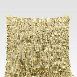 Donna Karan Modern Classics Beaded Fringe Decorative Pillow