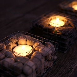 Pebblecube Tea Light Holder