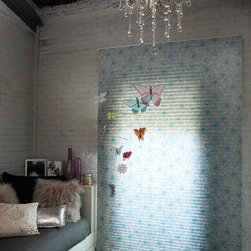 Honeycomb - Your shades will reflect the magic you were looking for, in a delicate girl's room
