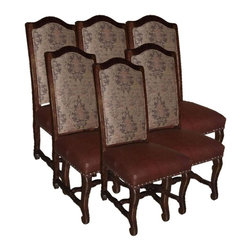 EuroLux Home - Set/6 New Chairs Side Chairs Consigned Antique - Product Details